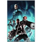 """Marvel Comics """"Secret Warriors #8"""" Numbered Limited Edition Giclee on Canvas by"""