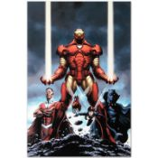 """Marvel Comics """"Iron Man #84"""" Numbered Limited Edition Giclee on Canvas by Steve"""