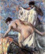 Edgar Degas - After Bathing #3