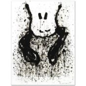 """""""Watchdog 6 O'Clock"""" Limited Edition Hand Pulled Original Lithograph by Renowned"""