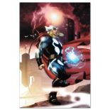 """Marvel Comics """"Thor #615"""" Numbered Limited Edition Giclee on Canvas by Joe Quesa"""