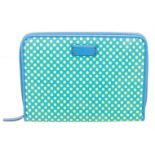 Marc By Marc Jacobs Blue & Yellow Leather Dot Tablet Case