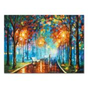 "Leonid Afremov (1955-2019) ""Misty Mood"" Limited Edition Giclee on Canvas, Number"