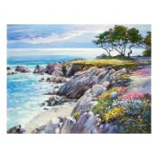 """Howard Behrens (1933-2014), """"Monterey Bay, After The Rain"""" Limited Edition on Ca"""
