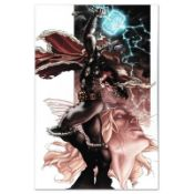 """Marvel Comics """"Thor: For Asgard #3"""" Numbered Limited Edition Giclee on Canvas by"""