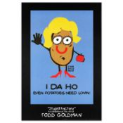 """""""I-DA-HO"""" Collectible Lithograph (24"""" x 36"""") by Renowned Pop Artist Todd Goldman"""