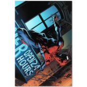 """Marvel Comics """"The Amazing Spider-Man #592"""" Numbered Limited Edition Giclee on C"""