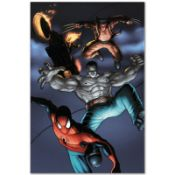 """Marvel Comics """"Fear Itself: Fearsome Four #2"""" Numbered Limited Edition Giclee on"""