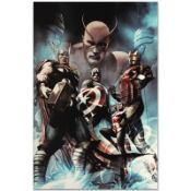 """Marvel Comics """"Hail Hydra #2"""" Numbered Limited Edition Giclee on Canvas by Adi G"""