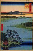 Hiroshige Benten Shrine