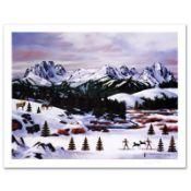 "Jane Wooster Scott, ""Sawtooth Mountain Splendor"" Hand Signed Limited Edition Lit"
