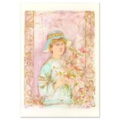 """Edna Hibel (1917-2014), """"Flora"""" Limited Edition Lithograph, Numbered and Hand Si"""