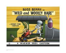 Warner Brothers Hologram Wild and Woolly Train