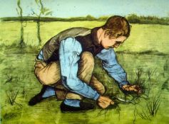 Van Gogh - Cutting Grass