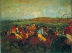 Edgar Degas - Gentlemen's Race