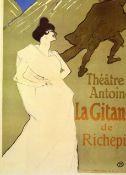 Toulouse-Lautrec - La Gitane de Rechepin