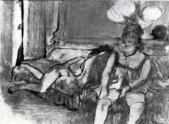 Edgar Degas - Taking A Rest