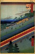 Hiroshige - Hall of Thirty-Three Bay