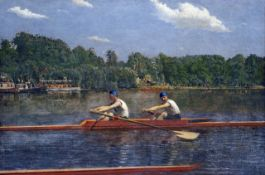 Thomas Eakins - The Biglin Brothers Racing