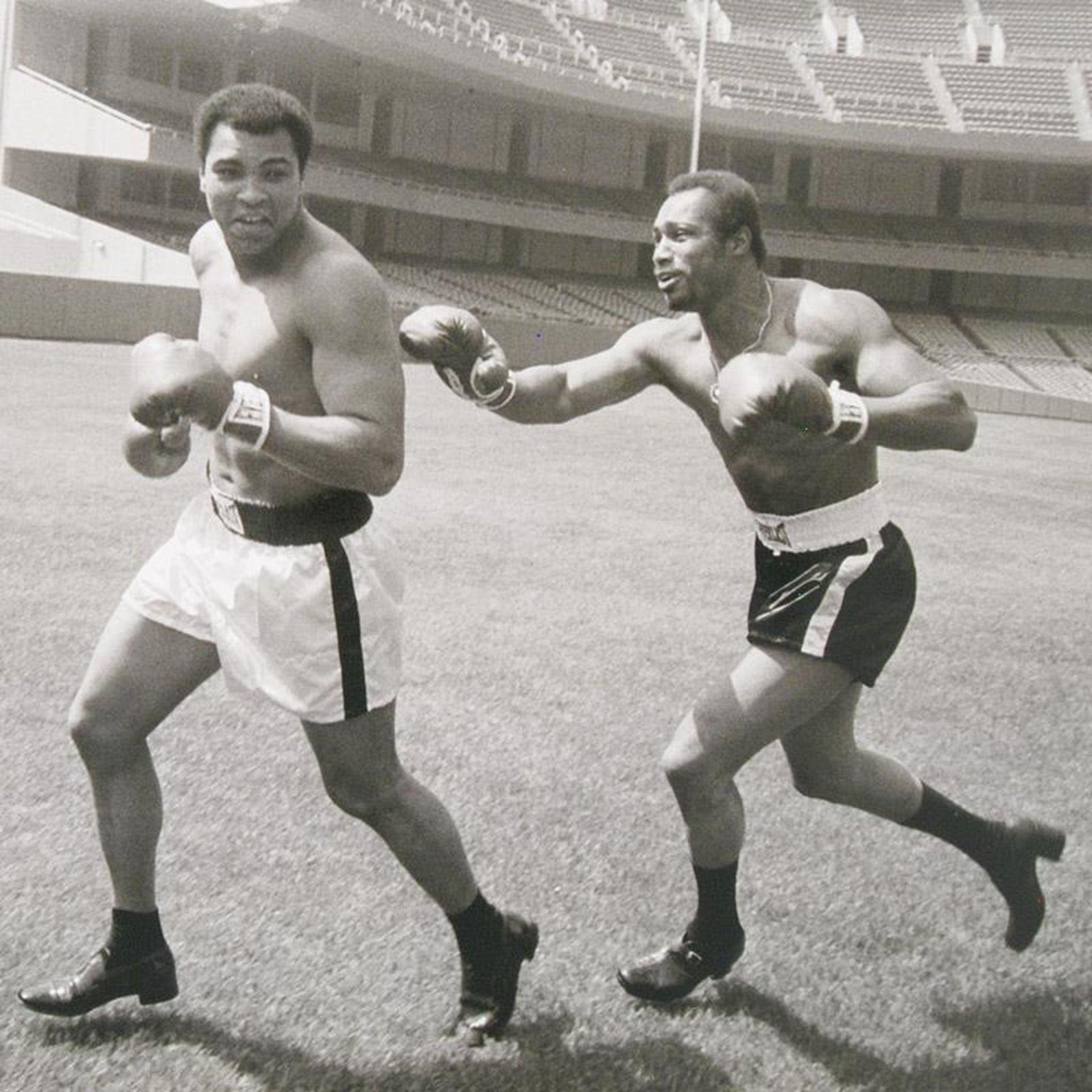 Norton Chasing Ali by Ali, Muhammad - Image 2 of 2