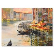 Canal at Dusk by Simandle, Marilyn