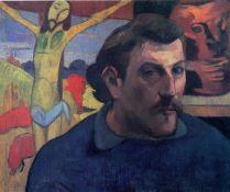 Paul Gauguin - Self Portrait with Yellow Christ
