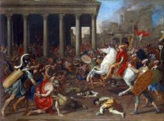 Nicolas Poussin - The Conquest of Jerusalem by Emperor Titus