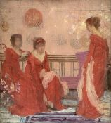 Whistler - Harmony in Flesh Colour and Red