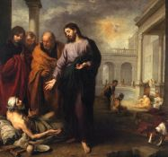 Bartolom� Esteban Murillo - Christ Heals the Paralytic