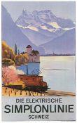 Emil Cardinaux - Simplonlinie Montreux