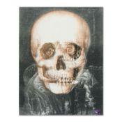 "Gothic Skull (Dali) by ""Ringo"" Daniel Funes"