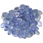 12.4ctw Oval Mixed Tanzanite Parcel