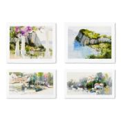 Exotic Ports (Set of 4) by Simandle, Marilyn