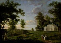 Thomas Birch - View of Sedgeley Park