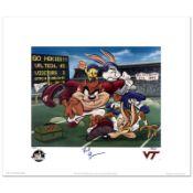 Virginia Tech - Frank Beamer by Looney Tunes