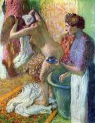Edgar Degas - After Bathing #1