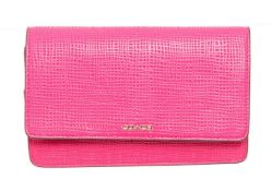 Coach Pink Leather Madison Embossed Cross Body Bag