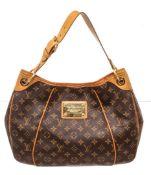 Louis Vuitton Brown Monogram Galliera PM Hobos Bag