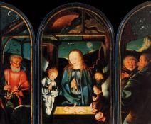 Jan Joest of Kalkar-Adoration of the Christ Child