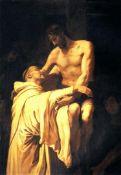 Francesco Ribalta - Christ Embracing St. Bernard