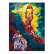 Michael Jordan Dunks by Turchinsky, Dimitry