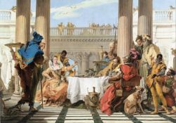 Tiepolo - The Banquet of Cleopatra