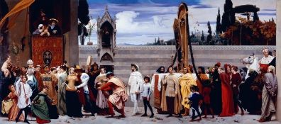 Frederic Leighton - Cimabues Madonna Carried in a Procession