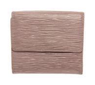 Louis Vuitton Brown Epi Leather Elise Wallet