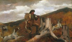 Homer - A Hunter and His Dogs