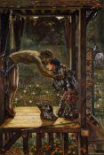 Edward Burne-Jones - The Merciful Knight