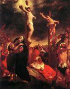 Eug�ne Delacroix - Christ at the Cross