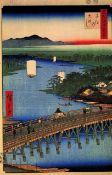 Hiroshige - Senju Great Bridge
