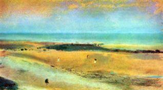 Edgar Degas - Beach At Low Tide #1