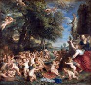 Sir Peter Paul Rubens - Worship of Venus